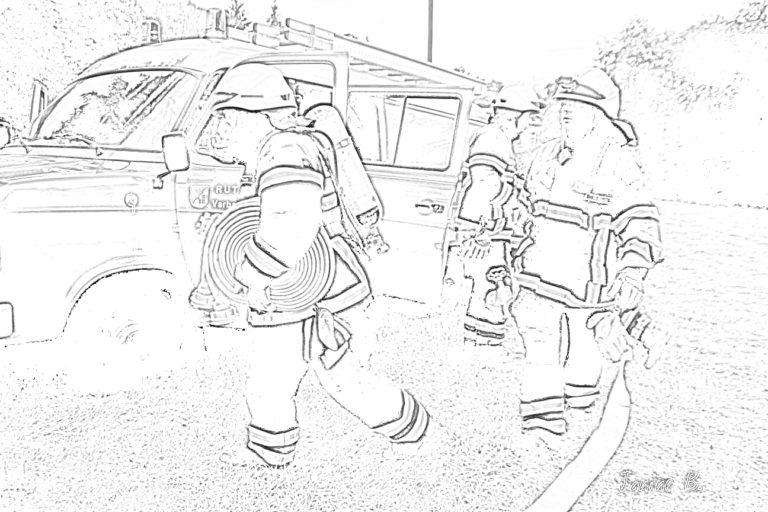 ausmalbilder für kinder  freiwillige feuerwehr ruthweiler